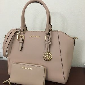 Michael kors large Ciara satchel Bag with Wallet